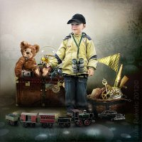 Маленький путешественник :: Julia Ra