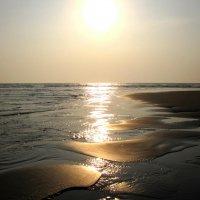 Закат на пляже Морджим(Гоа) :: Рустам Илалов
