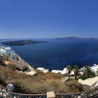 кальдера острова санторини греция :: юрий макаров