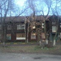 Архитектура старинного дома в городе Люберцы (Томилино) :: Ольга Кривых