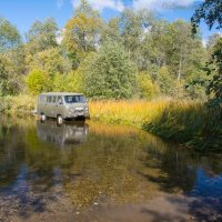 Брод через реку :: Борис Устюжанин
