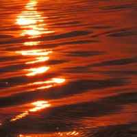 Днепр на закате :: Люба Вылывана