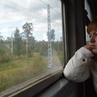 в поезде :: Оксана Орехова