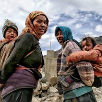 Кочевники (Tibetan normads...) :: Roman Mordashev