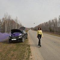 Случай на трассе :: Женя Лузгин