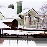 Снежные крыши... :: Евгений БРИГ и невич