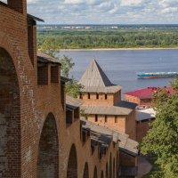 Вид на Волгу Часовая башня :: Дмитрий Анатольевич