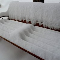 22.03.20 - Художества весеннего снегопада!... :: Лидия Бараблина