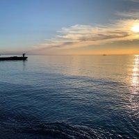 Рыбаки на закате :: Родион Вайс