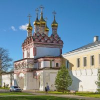 Иосифо-Волоцкий монастырь :: Юрий Шувалов