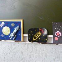 Работы детей ко Дню космонавтики :: Надежда