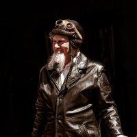 Старый мотоциклист. :: Евгений Мокин