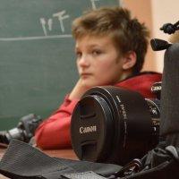 Юный фотограф :: Марина Кушнарева