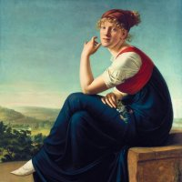 Шик, Кристиан Готлиб  - Портрет Генриетты Даннекер 1802. :: Gen Vel