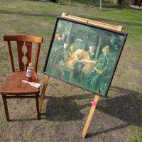 "A la Vincent Van Gogh ""Любители туалетной бумаги"" :: Борис"