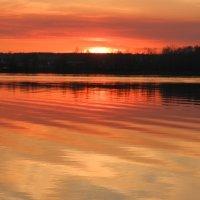 Закат над Ломпадью 25.03.20 :: Анатолий Кувшинов