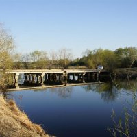 Мосток через р.Ачаирка. :: сергей