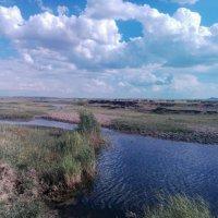 Река,уходит в небо... :: Георгиевич