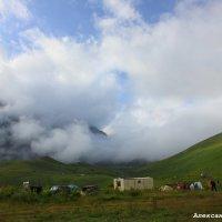 Урочище Джилы-Су палаточный лагерь :: Александр Богатырёв