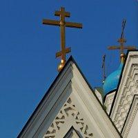Восточные ворота Николо-Перервинского мужского монастыря в Москве. :: Александр Качалин