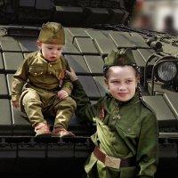 В танковые войска. Как дедушка! :: Виктор Никаноров