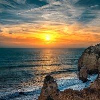 Закат, над Альгарвой. Португалия :: Игорь Геттингер (Igor Hettinger)