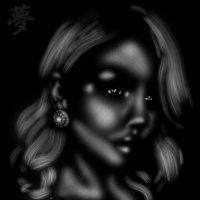 Beautiful woman in chiaroscuro. :: Герман
