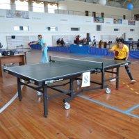 Играем в теннис для здоровья. :: Андрей Хлопонин