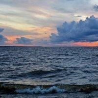 закат на заливе :: Елена