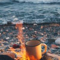 Чай на берегу моря :: Елена Черняева