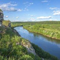 Река Сылва.Греховская гора :: Алексей Сметкин