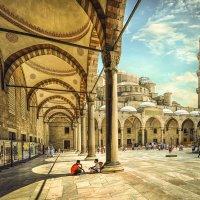Голубая мечеть в Стамбуле :: Александр Бойко