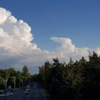Облака над городом... :: LORRA ***