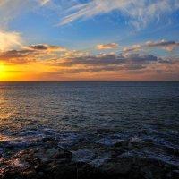 закат на Атлантическом океане :: Георгий А