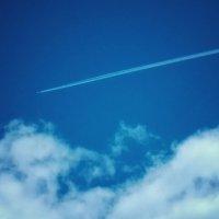 В небе самолёт :: Света Кондрашова