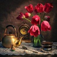 Утренний чай. :: Svetlana Sneg