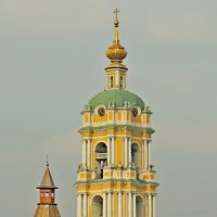 Церковь Сергия Радонежского в Новоспасском монастыре. :: Александр Качалин