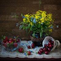 про цветы и фрукты :: Виктория Колпакова