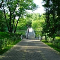 Белый мостик :: Милешкин Владимир Алексеевич