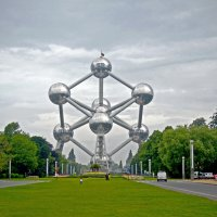 Атомиум — национальный символ Бельгии :: Нина Синица