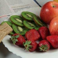 Здоровый завтрак :: Мария Попова