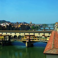 Золотой мост во Флоренции :: Наталья Мерзликина