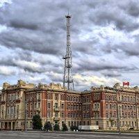 Ростов-на-Дону, Театральная площадь, здание РЖД :: Evgeniy Techiev