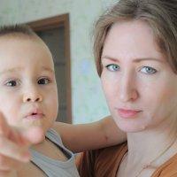 Мама с сыном :: Елена Киричек