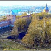Смоленская крепость,весна. :: Игорь