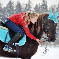 На природе зимой :: Aleksandra Matveeva