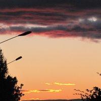 Осенний закат :: Ольга Иргит