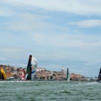 Портовая гонка VOR, г. Лиссабон. :: Андрей Кийко