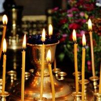 Тепло свечи.. :: Наталья Плющ