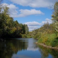 Осень на реке Туре :: Сергей Комков